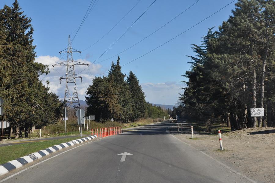 Дорога S5 на Сагареджо